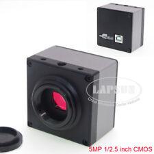 Usb 20 High Speed 5mp 1080p Video Fhd Hd C Mount Industrial Microscope Camera S