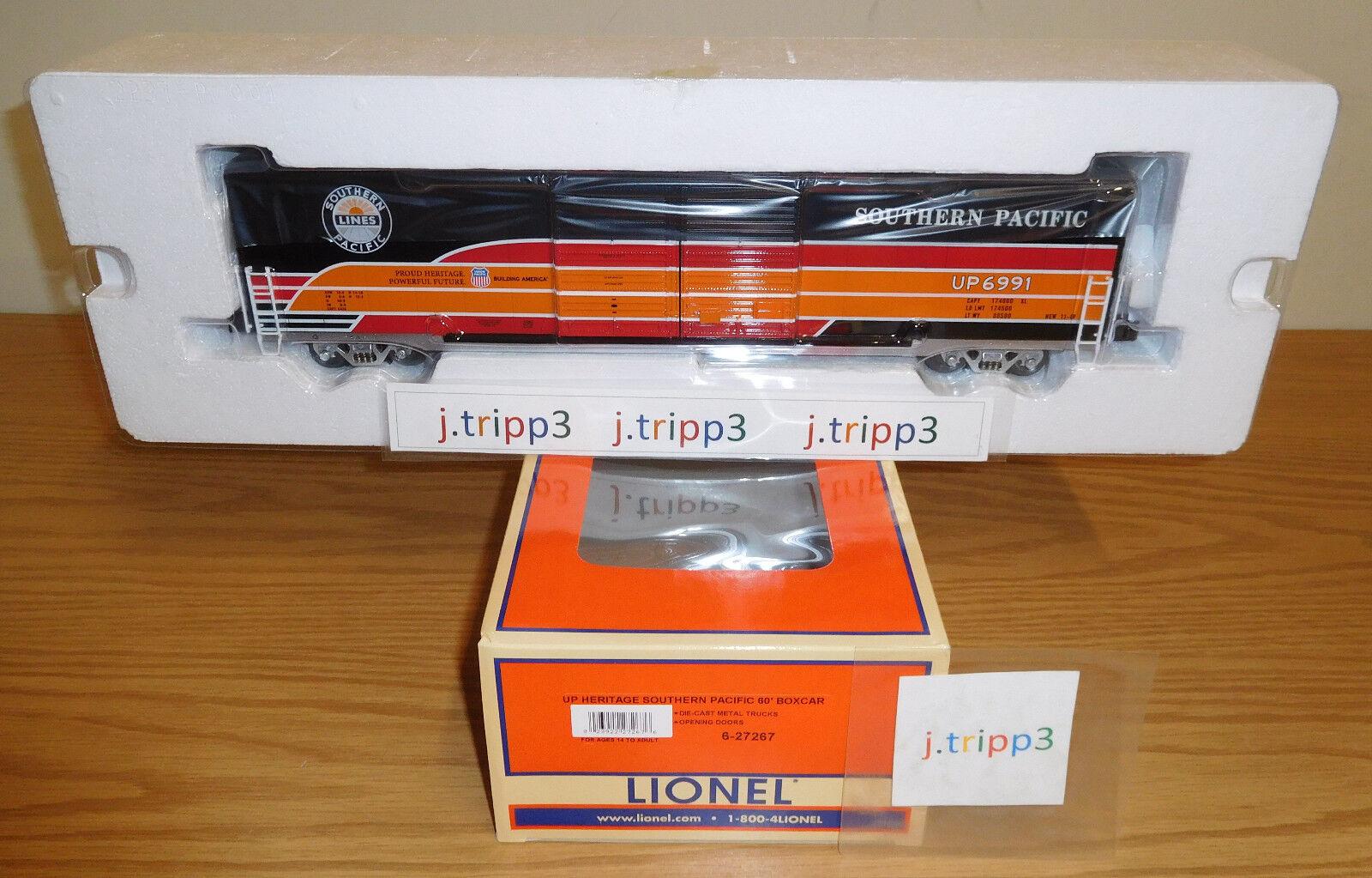 Lionel 6-27267 Southern Pacific Unión Up Heritage 60' furgón o escala Tren de Juguete