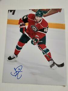 Jason-Zucker-Minnesota-Wild-8x10-Photo-Signed-Autograph-L-K