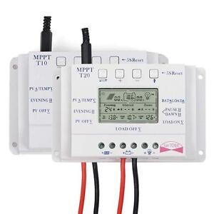 Solar-Panel-Regulator-LCD-10A-20A-12V-24V-MPPT-Charge-Controller-Three-Timer-H