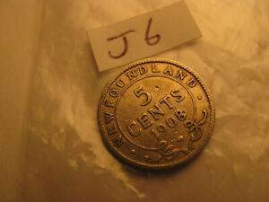 Major-Error-One-Of-A-Kind-Newfoundland-1908-Hooked-8-5-Cent-Silver-Coin-ID-J6