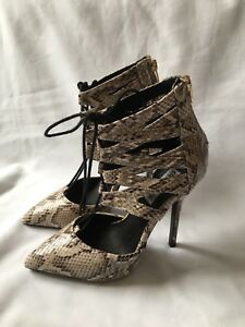 Size Shoes Heel Steven 5 38 Woman Madden Snake Pattern xYYBIX