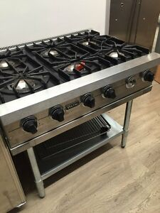 Image Is Loading Viking 36 034 Inch 6 Burner Pro Range
