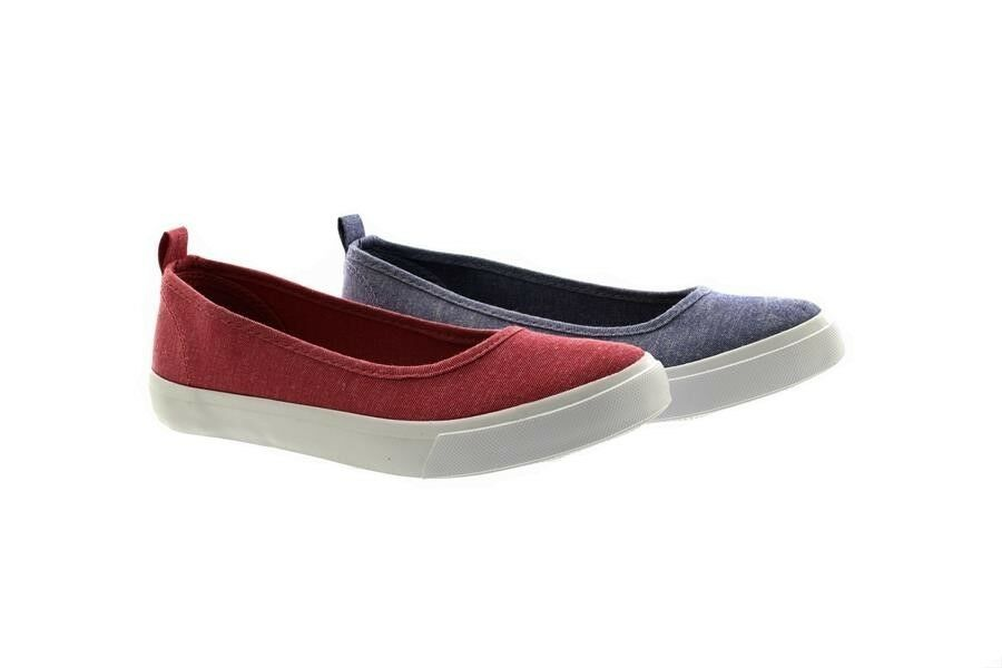 Men's/Women's Dr Keller Natalie Canvas Slip-On clearance Ballerina Plimsolls Shoes Big clearance Slip-On sale special promotion King of the crowd 69e2f4