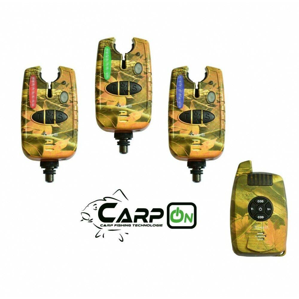 Carpon radio morso indicatore vincitore 31 Set 1 1 MIMETICO valigetta di trasporto 200m