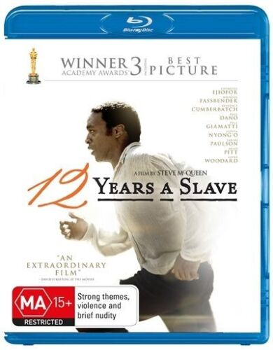 1 of 1 - 12 Years A Slave (Blu-ray, 2014)