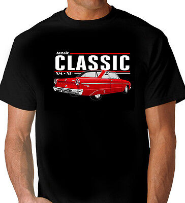 Ford GT XY XW Falcon T-Shirt Short Sleeve Tee Muscle Car Size XL /& 4XL