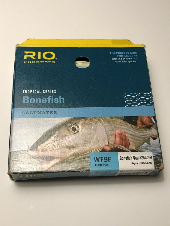 Flueline, Rio og Scientific Angler