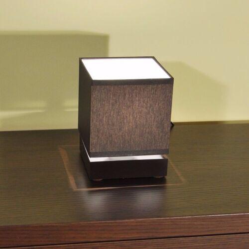 Tischlampe LLN12D Holz Tischleuchte Nachttischlampe Lampe Leseleuchte Leuchte