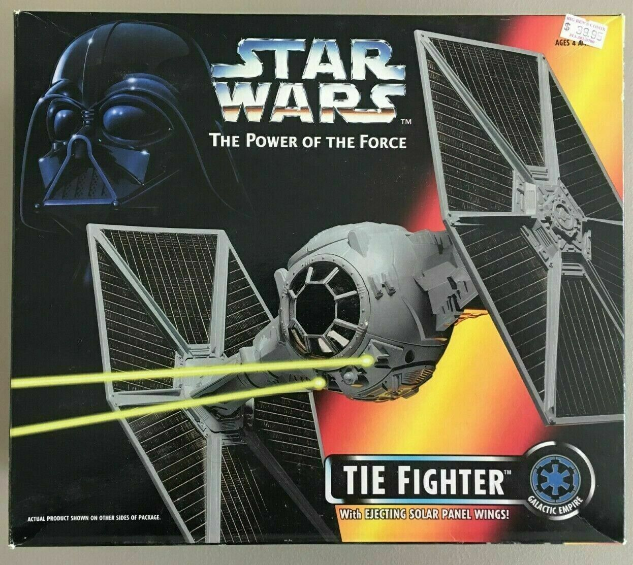 1995 Kenner estrella guerras energia of the Force Tie combatiente Vehicle Sealed completare scatola