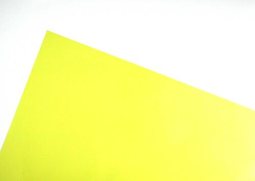 25 Sheets Yellow A4 Acetate Sheets Transparent Clear OHP Craft Plastic Film