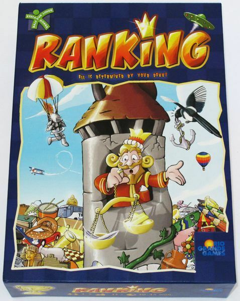 Ranking Board Game - Reach the top by getting your predictions higher to Score