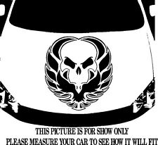 SKULL PHOENIX VINYL DECAL HOOD SIDE FOR CAR TRUCK