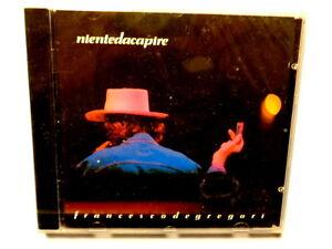 FRANCESCO-DE-GREGORI-NIENTE-DA-CAPIRE-CD-1990-NUOVO-E-SIGILLATO