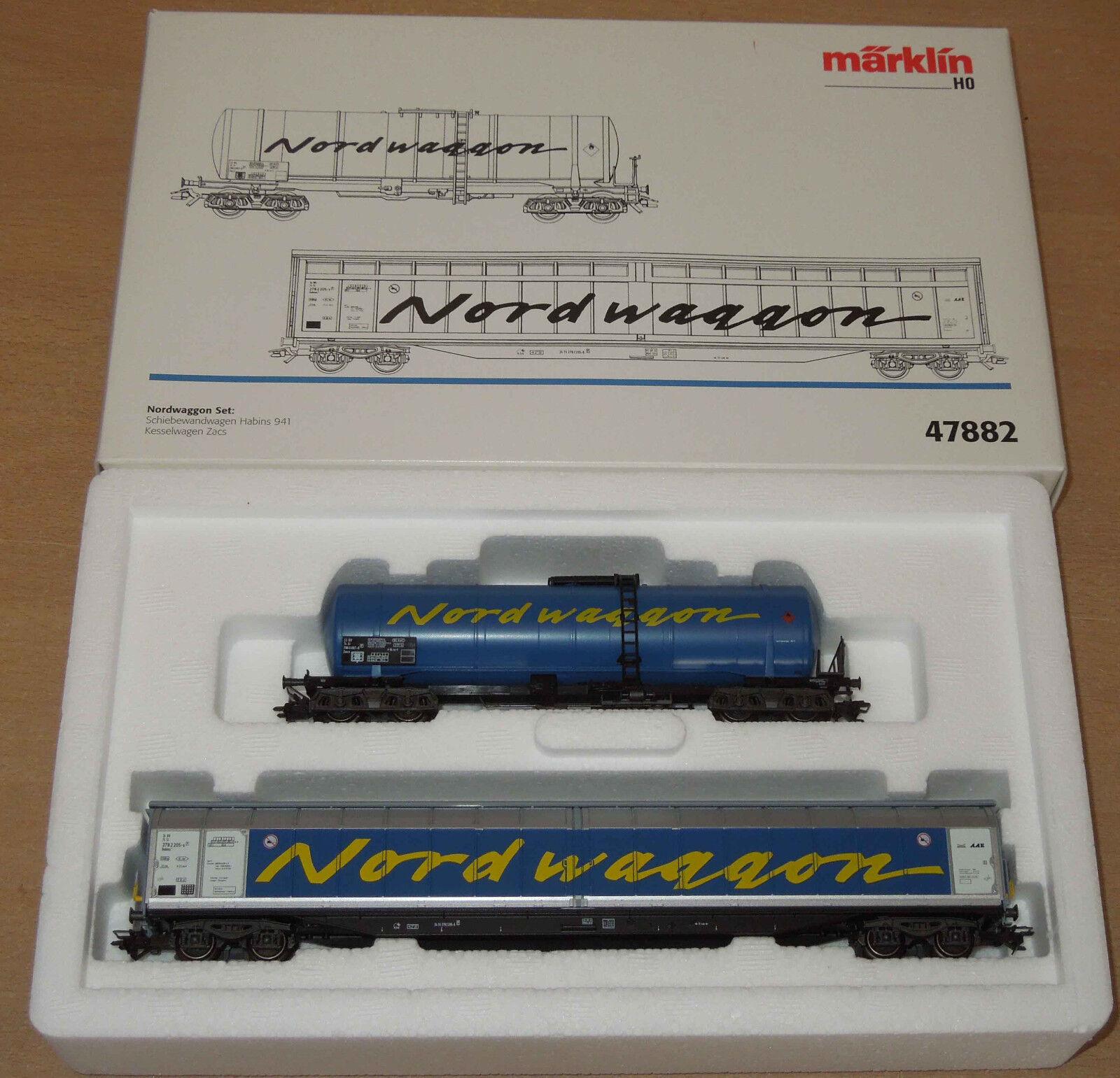 Märklin h0 47882 güterwagenset nordwaggon