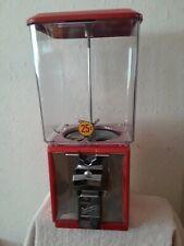 Red 25 Cent Northwestern Capsule Vending Machine