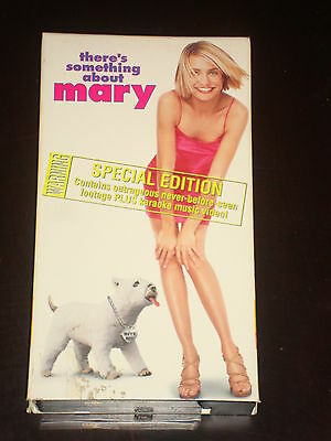 VHS movie 1998 There's Something About Mary, Cameron Diaz ... Cameron Diaz Movies 1998