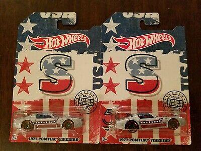 Hot Wheels Stars /& Stripes 1977 Pontiac Firebird