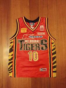 Details about Rare Andrew Gaze Melbourne Tigers NBL United jersey singlet basketball 90s Retro
