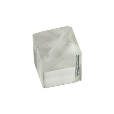 """20 PACK Clear Acrylic Tumbled Cube 5//8/"""""""