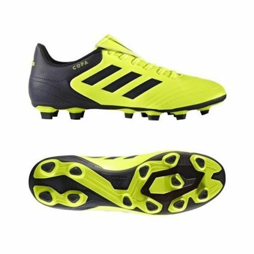 2649a5f3ee2 adidas Copa 17.4 FXG S77162 Solar yellow Mens Soccer Cleats Size 7.5 for  sale online