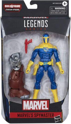 Spymaster Marvel Legends Series Figure Crimson Dynamo Build-a-Figure