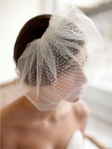 Wedding-headdress-Bridal-Feather-net-bow-Birdcage-Face-Veil-Fascinator-veils-cap