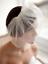 Wedding-headdress-Bridal-Feather-net-bow-Birdcage-Face-Veil-Fascinator-veils-cap thumbnail 1