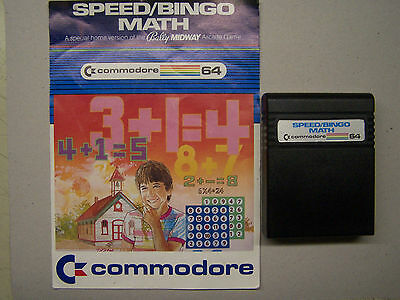 Financial Advisor Cartridge Commodore 64 C64 C128 Tested Working no case
