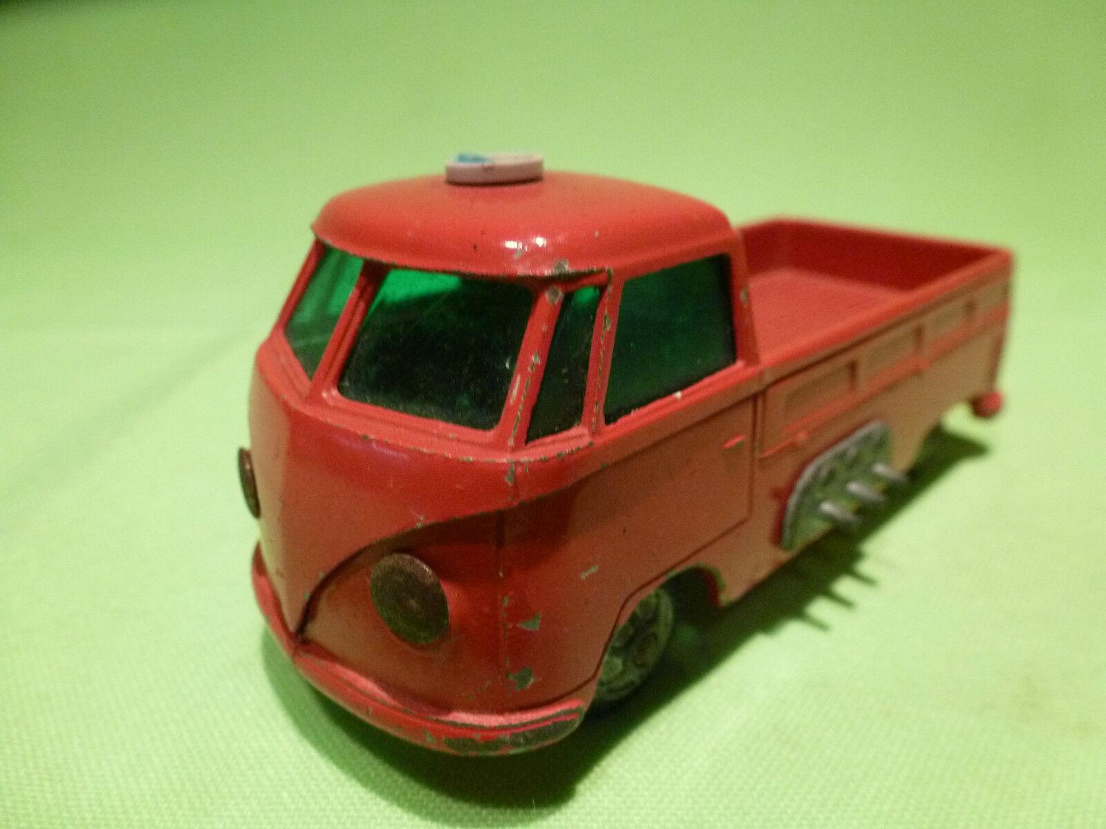 TEKNO DENMARK  1 43   VOLKSWAGEN BUS  - FEUERWEHR  - VW BUS   IN GOOD CONDITION