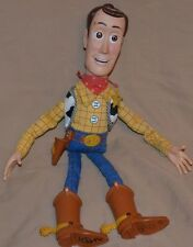 """13.5"""" Fire Fightin' Woody Toy Story Toys Action Figures Figurines Hasbro 2004"""