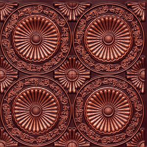 Details About 235 Lot Of 10 Antique Copper Pvc Faux Tin Decorative Ceiling Tile Glue Up
