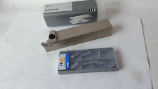 1 ISCAR -Abstech- Klemmhalter GHDR 25-5 mit 10  Wendeplatten