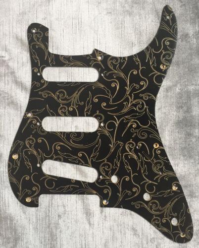 Gold Black Paisley Custom Bakelite Pickguard fits Fender® Stratocaster® Strat®