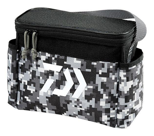 Tactical Grey Daiwa DJTB-60CBO D-Vec Jig Tote Combo Bag with 60 Sz Storage Case