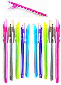 20-X-Flair-Candy-0-7mm-Tip-Blue-Ink-Ball-Point-pen-Attractive-Body-Colors