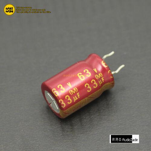 220uF 16V 4.7uF 25V 33uF 35V 63V ELNA ROA Cerafine Red Capacitors AudioJade