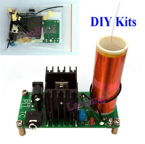 Music-Tesla-Coil-Board-Kits-Plasma-Speaker-Arc-Ignition-Wireless-Transmission