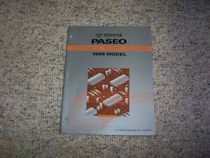 1996 Toyota Paseo Electrical Wiring Diagram Manual Coupe 1 ...