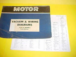 1970 1971 1972 1973 1974 Buick Riviera Lesabre Centurion Vacio Diagramas De Cableado Ebay