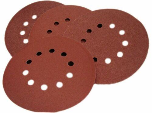 12x matrice Velcro Meules couvertures Ballon Meuleuse Papier abrasif 150-240