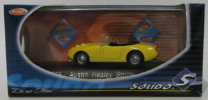 Solido-1-43-Scale-Diecast-4576-1958-Austin-Healey-Sprite-Yellow