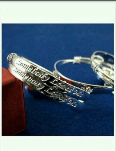 UK love baby bangle 925 STERLING SILVER  anklet 0-6 age birthday gift boy girl