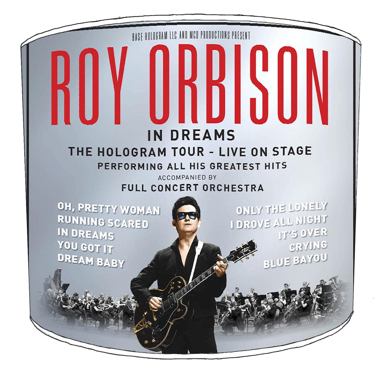 Roy Orbison paralumi, ideale per abbinare Roy Orbison Cuscino Cuscino Cuscino copre. 1984f8