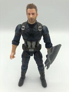 Marvel-Legends-Avengers-Infinity-Krieg-Captain-America-lose-6-034-Figur-Thanos-Wave