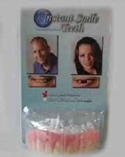 Flexible ultra thin instant smile teeth flex fit press on veneers secure instant smile false fake cosmetic dentures teeth oral dental veneers solutioingenieria Choice Image