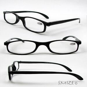 b2e84bd35266 Details about Reading Glasses Single Vision Half Frame Light Readers 100-275