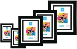 Black 6x4 7x5 8x6 10x8 10x12 A4 Certificate Photo Picture Frame X 12