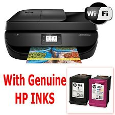HP Officejet 4650 e-All-in-One Stampante Wireless Scanner Fotocopiatrice Fax-con Inchiostri