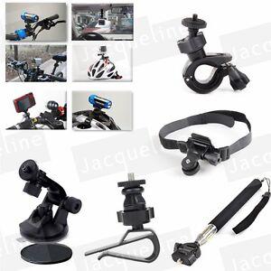 Estendibile-Palmare-Monopiede-Bici-Manubrio-Ventosa-di-Montaggio-per-Action-Camera
